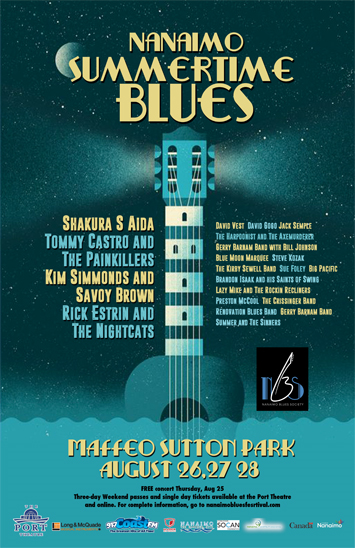 Nanaimo summertime blues