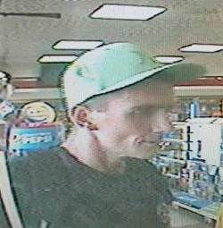 Suspect in fraudulent use of credit card
