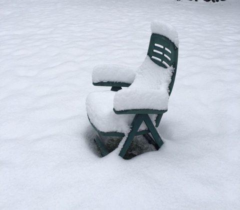 snow-chair