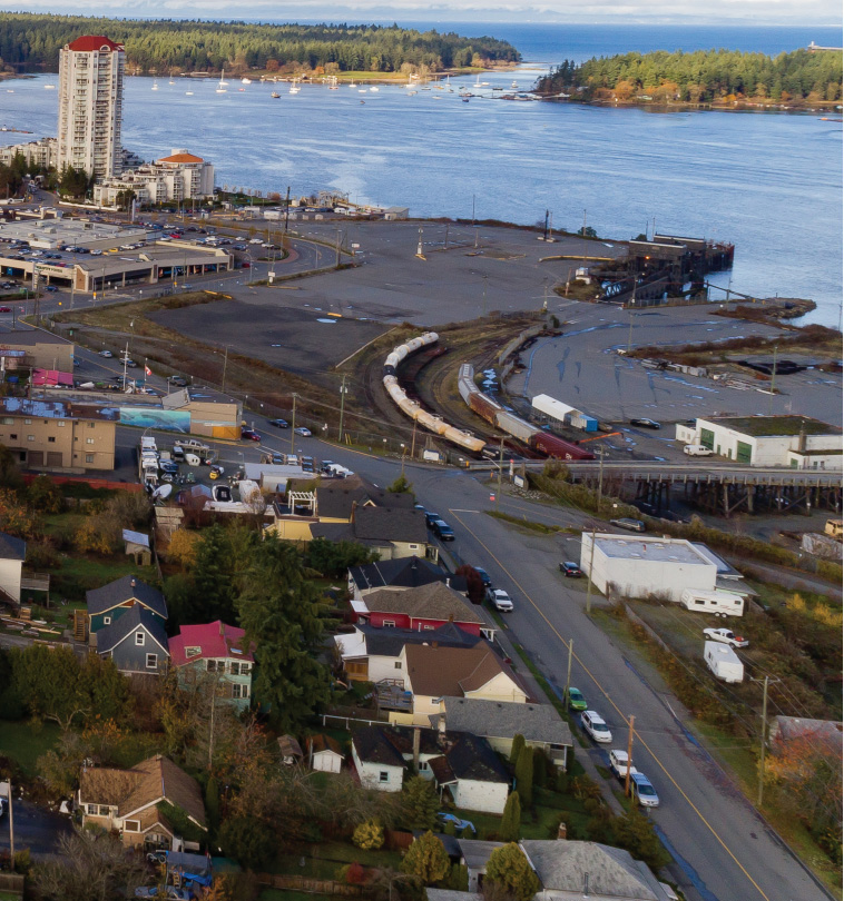 Two Sides To Nanaimo Waterfront Plans